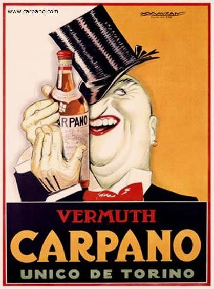Vermouth first aperitivo drink